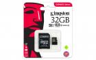 Card memorie micro SDHC cu adaptor SD 32GB Class 10 UHS I U1 Kingston