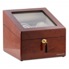 Watch Winder M nchen Brown 2 by Designh tte Made in Germany personaliz