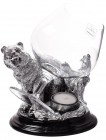Incalzitor de Cognac Silver Bear by Chinelli made in Italy