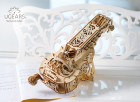 Puzzle 3D Instrument Muzical Vioara din Lemn Ugears