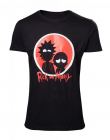 Tricou Rick and Morty Red Logo