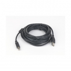 Cablu de date USB2 0 A tata la USB B tata conectori auriti si miez fer