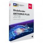 Licenta retail Bitdefender Antivirus Plus 2018 noua valabila pentru 1