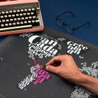 Harta razuibila Typogeography Originala Luckies