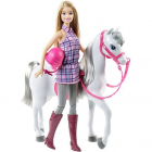 Papusa Barbie Cu Calut BRB Horse And Doll