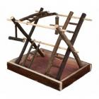 Loc de joaca din lemn pentru pasari Trixie 35X27X30 cm