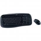 Kit tastatura si mouse wireless Genius KB 8000X