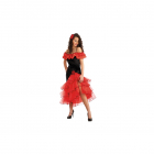 Costum Flamenco Rosu M L
