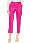 Ellen Tracy Slim Leg Trousers w Side Slits