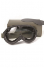 US M44 SUN WIND AND DUST GOGGLES W CASE