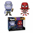 Funko Vynl Avengers Infinity War Thanos and Iron Spider