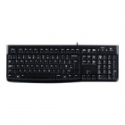 Tastatura USB OEM K120 Black layout germana