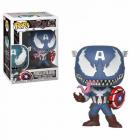 Funko POP Venom Venomized Captain America Bobble Head