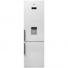 Combina frigorifica RCNA400E21DZW A 400l dozator alba