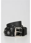Just Cavalli 40mm Studded Leather Belt