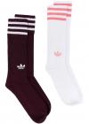 adidas Dh3361 Burgundy Cotton Socks