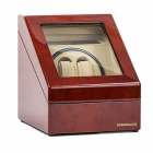 Watch Winder Monaco Brown 2 by Designhutte Made in Germany