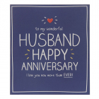 Felicitare Husband Happy Anniversary