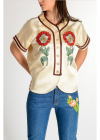 Gucci Short Sleeves Chimono top
