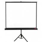 ecran proiectie cu trepied Avtek PRO 180x180cm 1 1 alb mat