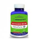 Silymarin 80 50 detox forte 120cps HERBAGETICA