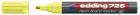 Marker tabla Edding 725neonvf 2 5mm galben