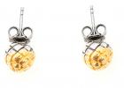Bottega Veneta Dichotomy Earrings