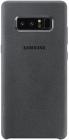 Samsung Protectie pentru spate Alcantara Grey pentru N950 Galaxy Note