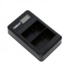 Incarcator dual Widjit pentru baterii EN EL15 DSLR Nikon Negru