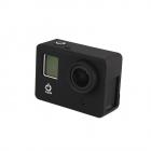 Carcasa de protectie din silicon compatibila cu GoPro Hero 3 3 si 4 Ro