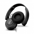 Casti on ear JBL T450 cu microfon Negru