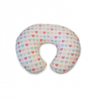 Perna alaptare Chicco Boppy 4 in 1 Hearts