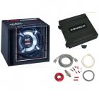 Pachet subwoofer auto Mac Audio Pro Charger 130 400W amplificator Crun