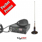 Pachet statie radio auto CB PNI Escort HP 8000L Antena CB PNI ML160 lu