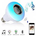 Bec Muzical Inteligent cu Led Bluetooth si telecomanda iUni DF18 3W Lu