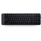 Tastatura K230 wireless neagra