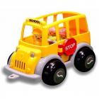 Autobuz scolar cu sofer si 2 elevi Midi