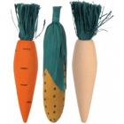 Jucarie pentru rozatoare Trixie Morcov 3buc 10cm