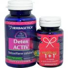 Detox Activ 60cps 10cps Pachet 1 1 Promo