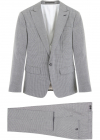 Micro Check Two Piece Suit