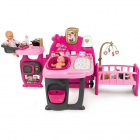 Centru de ingrijire pentru papusi Baby Nurse Doll s Play Center cu 23