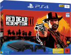 Consola Sony PlayStation 4 Slim 1TB 2nd Controller Red Dead Redemption