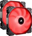 Ventilator radiator Corsair Air Series AF140 LED Red 2018 140mm Dual P