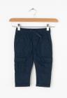 Pantaloni cargo cu snur pentru ajustare in talie