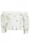 Bluza ZARA Floral White