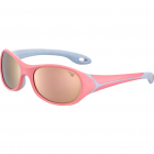 Ochelari de soare sport copii Cebe FLIPPER PINK BLUE 1500 GREY BL FM P