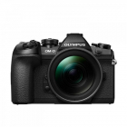 Aparat foto Mirrorless OM D E M1 Mark II 20 Mpx Black Kit EZ M1240 PRO