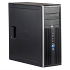 HP 8000 Elite Intel C2D E8400 3 00 GHz 4 GB DDR 3 500 GB HDD DVD RW To