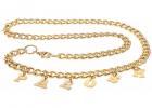 Golden Chain Belt With Parosh Logo