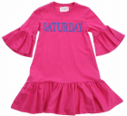 Pink Fuchsia Saturday Dress